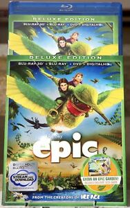 Epic 3D BluRay Set with Slipcover  Better than UK  NEW - Glasgow, UK, United Kingdom - Epic 3D BluRay Set with Slipcover  Better than UK  NEW - Glasgow, UK, United Kingdom