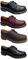 DM Dr Doc Martens 1461Z Classic Black Cherry Red Gaucho Brown Shoes Originals