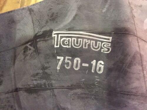 Luftschlauch mit Gummiventil TR15   Marke Taurus 750 16 Schlauch 7.50-16