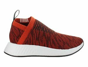 Mens-Adidas-NMD-CS2-Primeknit-Red-Glitch-Harvest-red-Core-Black-BY9406