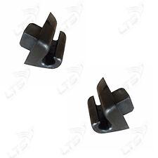 MERCEDES E CLASS W123 W124 W126 W140 W201 SUN VISOR SUNSHADE RETAINER x2 BLACK