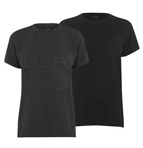 Ladies-USA-Pro-Long-Line-Lightweight-Top-Classic-Crew-T-Shirt-Sizes-from-8-to-18