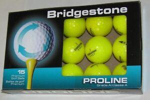 15 Bridgestone E6 Jaune Grade Aaaaa Recyclé 4 A Boules Lot 88175-afficher Le Titre D'origine