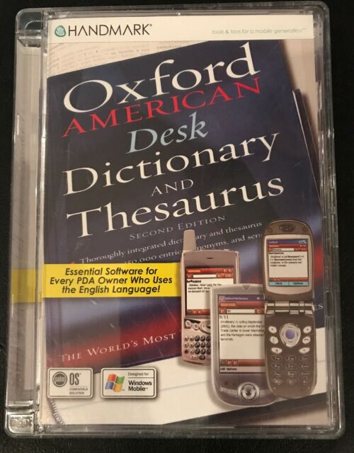 Handmark Software Oxford American Dictionary and Thesaurus