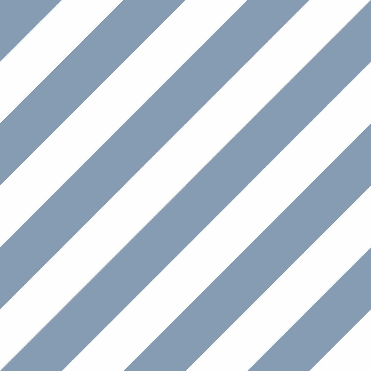Essener Tapete Simply Stripes 3 St36916 bluee Stripes Striped Vinyl Wallpaper