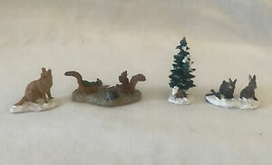 Lemax Village Collection 2001 Woodland Animals 12516 Christmas Village Town