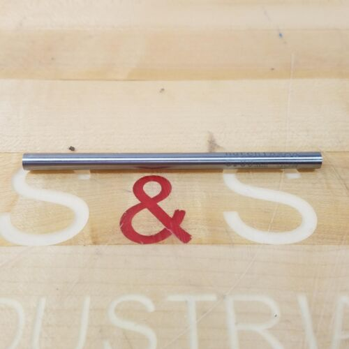 NEW Hutchinson 6.00mm HSS Drill /& Reamer Blank 102mm Overall Length