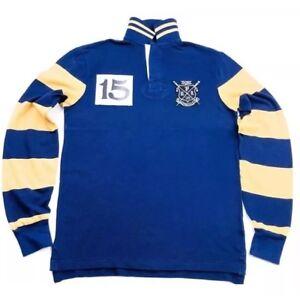 Ralph-LAUREN-Club-de-Remo-Calce-Ajustado-Camisa-Polo-De-Rugby-Personalizado