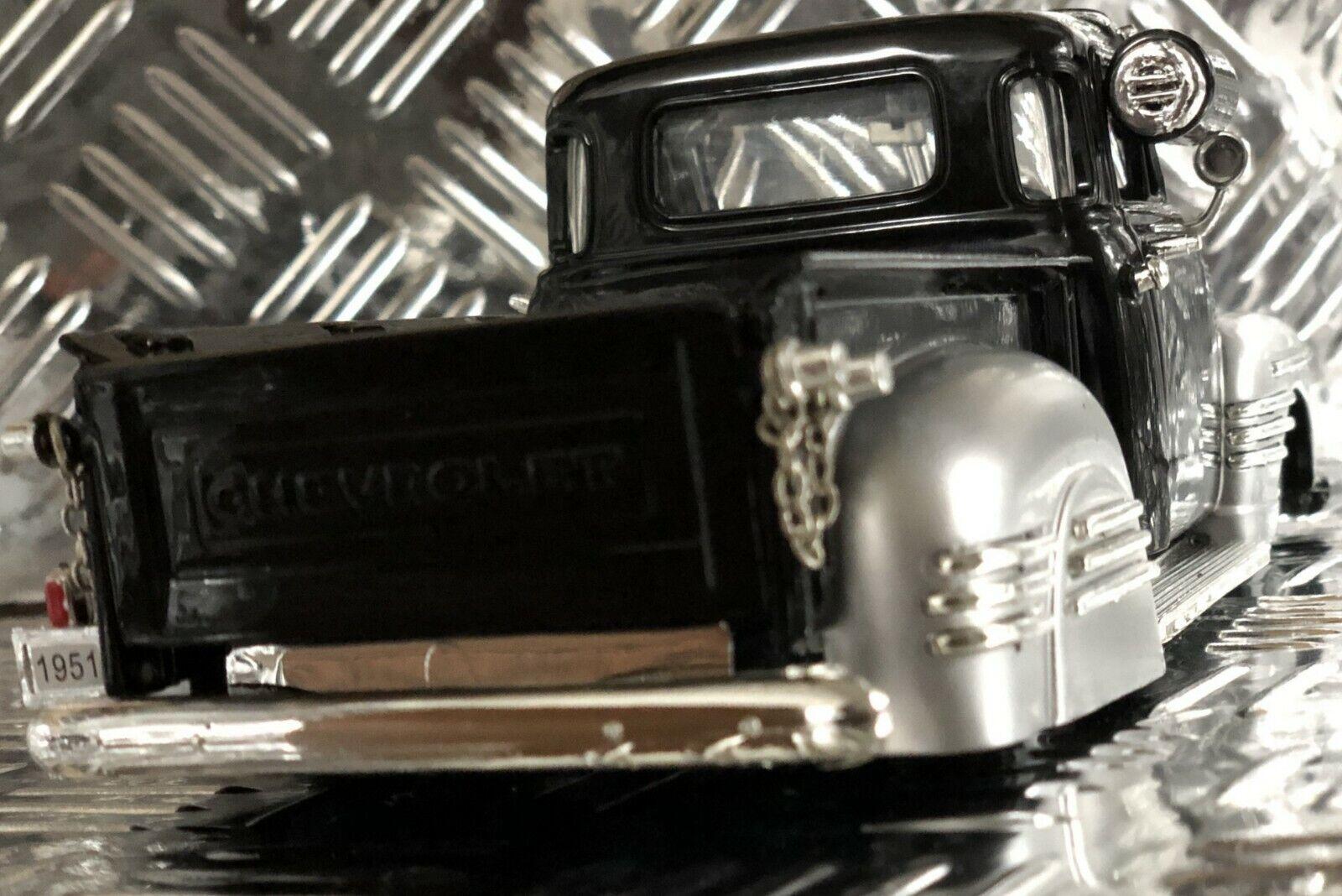 Chevy Camioneta 1950s Vintage Chevrolet Classic 1951 escala 1 24 De Metal Modelo B