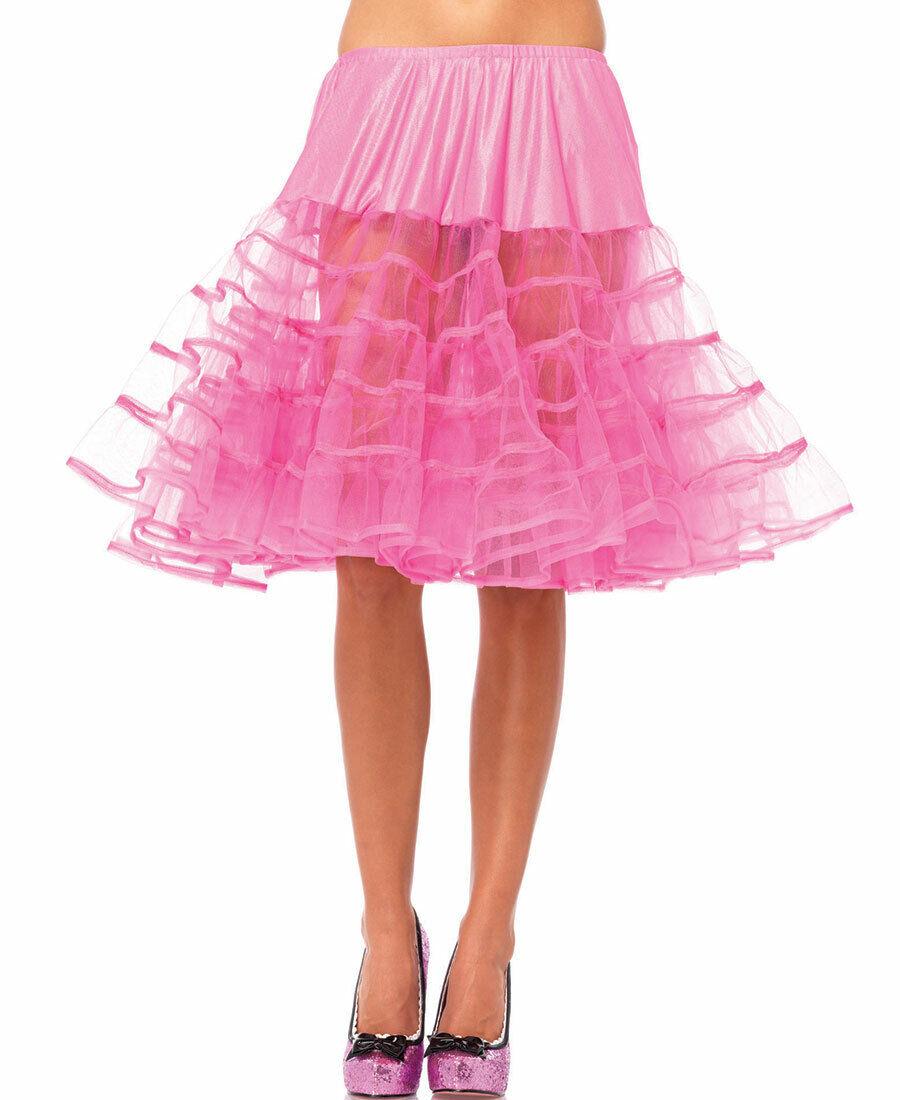 New Leg Avenue 83043P Knee Length Petticoat Skirt