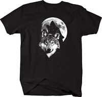 Tshirt -glow In The Dark - Wolfs In The Moonlight