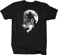 Tshirt -glow In The Dark - Wolfs In The Moonlight