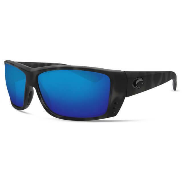 Costa Del Mar Cat Cay OCEARCH Polarized Sunglasses 400G Tiger sharkblu Glass