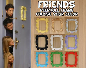 Friends frame tv show peephole frame monica 39 s door you for Marco puerta friends