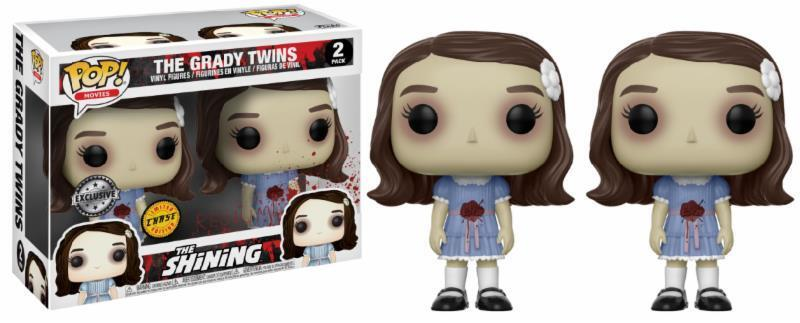 Grady Twins Chase The Shining horror film pop Movies 2-pack vinilo personaje funko