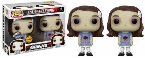Grady Twins Chase The Shining Horror Film POP! Movies 2-Pack Vinyl Figur Funko