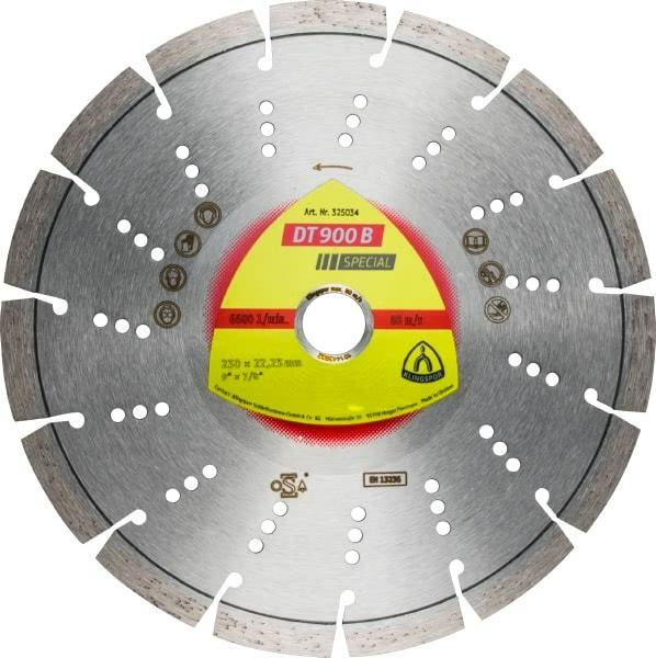 Klingspor DT 900 UT Diamanttrennscheibe 125x2,2x22,23mm oder 230x2,5x22,23mm