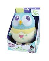 Ok To Wake Owl With Night-light & Music Free Shipping