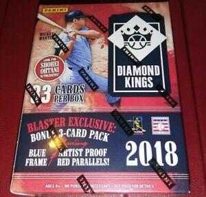 2019 Panini Diamond Kings Baseball Blaster Box 6 Packs 5 Cards Bonus Pack