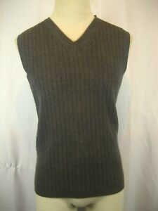 cf53cded25abd Mens NWOT Tommy Hilfiger Gray Cotton Golf Sleeveless Sweater Vest sz ...