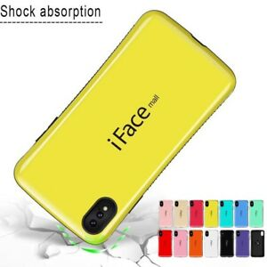 sale retailer 4f2e2 cd4d6 Details about iFace mall For iPhone XS Max XR X Heavy Duty Shockproof TPU  Hard Case Cover Skin