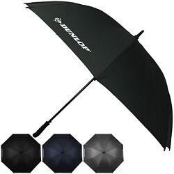 XXL Dunlop Regenschirm Golfschirm Stockschirm Partnerschirm Schirm groß 130 cm