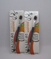 2 Covergirl Makeup Masters Eye Shadow Eye Liner Brush 2 Packs Sealed Free Ship