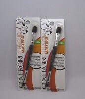 2 Covergirl Makeup Masters Eye Shadow Eye Liner Brush 2 Packs Sealed Free Ship