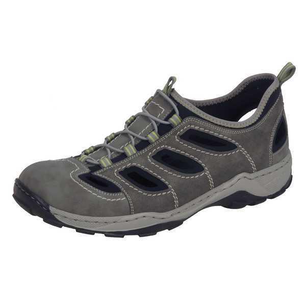 Rieker zapatos caballero zapatillas, gris, artículo 08065-40  nuevo nuevo nuevo cf0c90