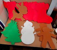 Creatology Holiday Mix Lot Foam Shapes 14pc 8 X 10 Michaels 3+ Christmas 54m