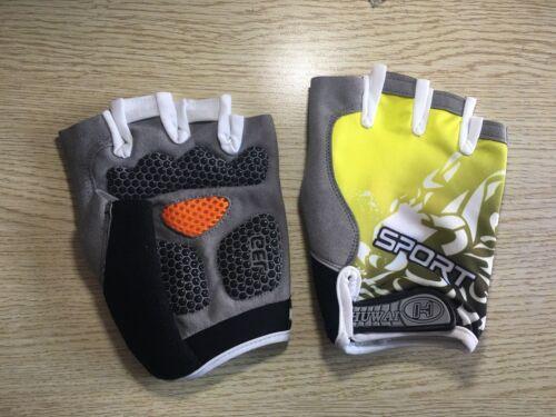 Sports 3D Gel Padded Anti-Slip Gloves Gym Fitness  Body Building Crossfit