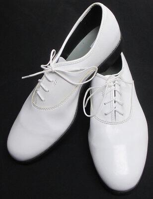 white tuxedo shoes