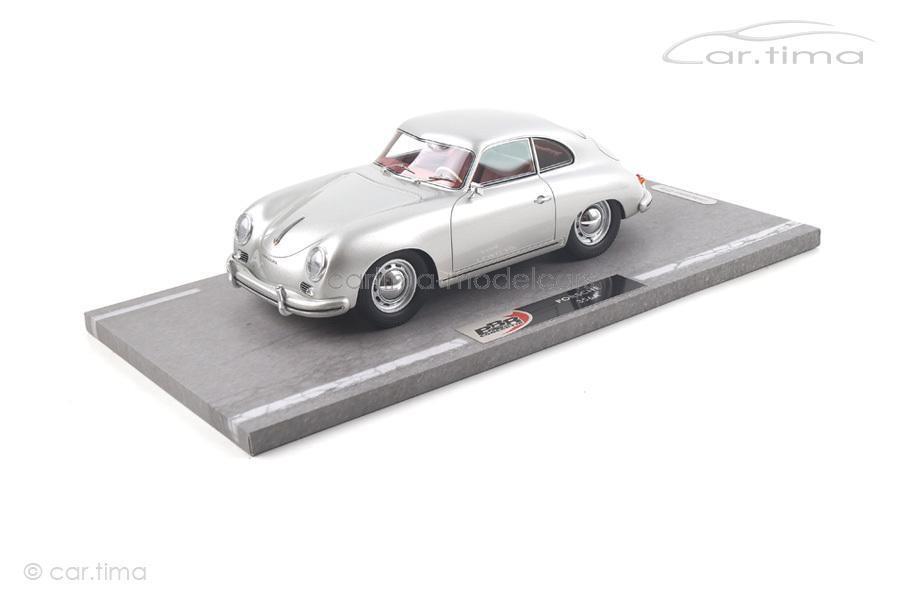 Porsche 356 A 1955-Argent 1 OF 99-BBR 99-BBR 99-BBR 1:18 bbr1820a | Prix D'aubaine  68d5df