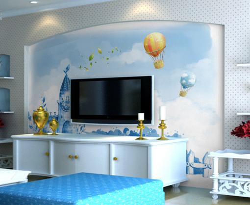3D Cute Balloons Hut 7 Wall Paper Murals Wall Print Wall Wallpaper Mural AU Kyra