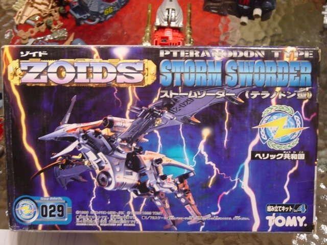 Zoids Storm Sworder Mint in Box