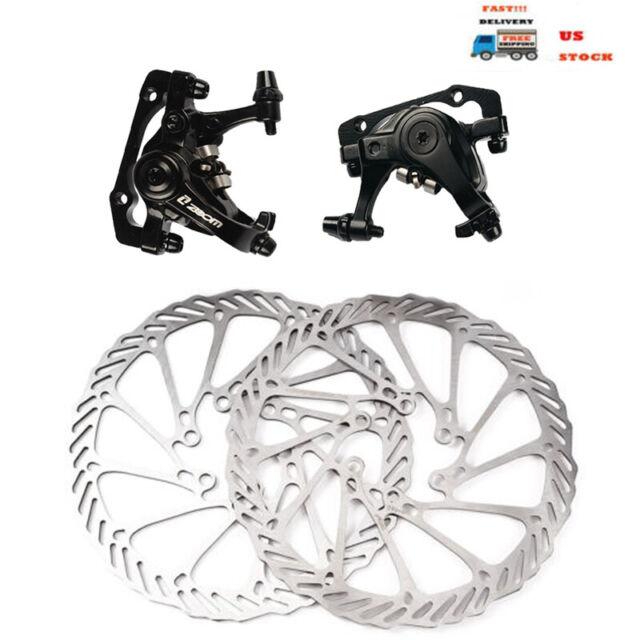 Bike bicycle front rear caliper mechanical disc brake mtb mountain p Sc