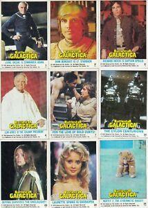 Battlestar Galactica Complete 132 Trading Card Set NM Topps 1978