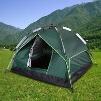 Docooler 3-4 Person Double layer Waterproof Tent (Green)