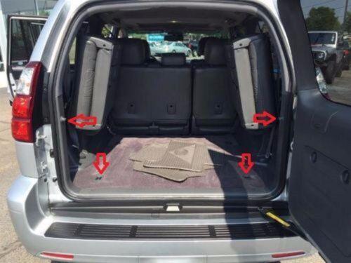 Envelope Style Trunk Cargo Net for Lexus GX470 2003-2009 NEW