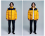National-Geographic-Mens-Bison-RDS-Duck-Down-Short-parka-Jacket-Yellow miniature 4