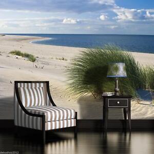 poster fototapeten fototapete wandbild foto tapeten nordsee ostsee strand 655 p4 ebay. Black Bedroom Furniture Sets. Home Design Ideas