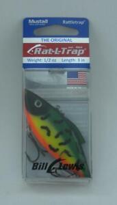Bill Lewis RT22 Original Rat-L-Trap Rattle trap 1/2 oz Color Fire Tiger 25497