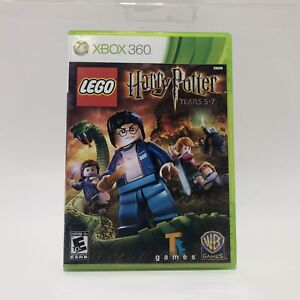 LEGO Harry Potter: Years 5-7 (Microsoft Xbox 360, 2011) Complete Tested Working
