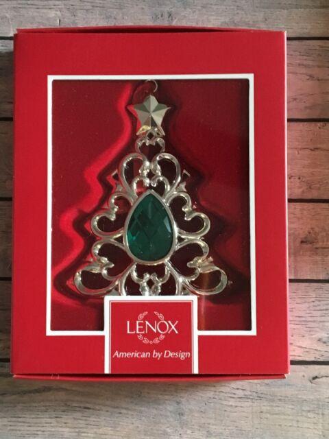 Christmas Tree Silver Plated Metal Pendant pk10