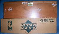 1991-92 Upper Deck Sealed Master Basketball Set In Wood Grain Box 1st Ud Jordan