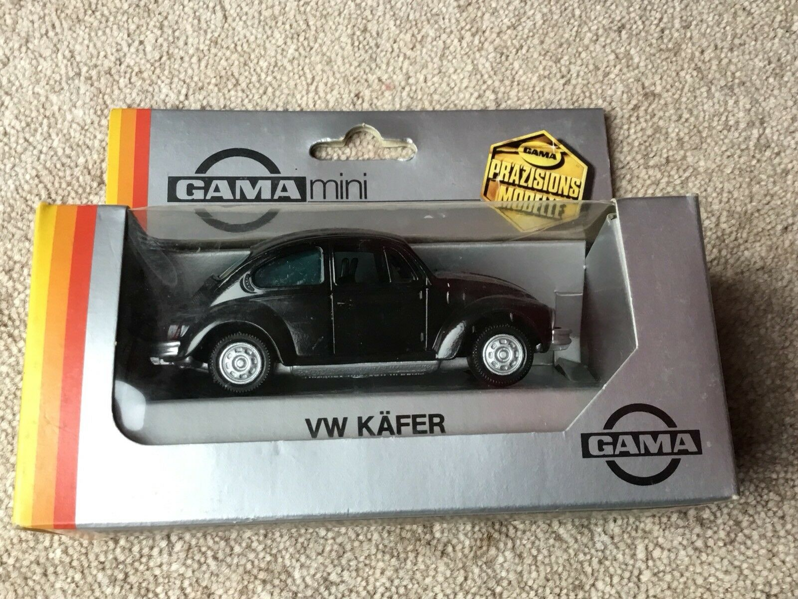 VW-KAFER 1302 BEETLE GAMA MINI No8 1104000 1 43 NEW BOX RARE WEST GERMANY