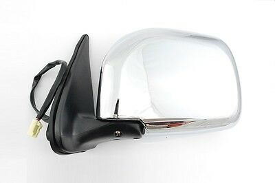 Toyota Hilux MK4 Chrome Door Mirror NEW LH or RH 97-01