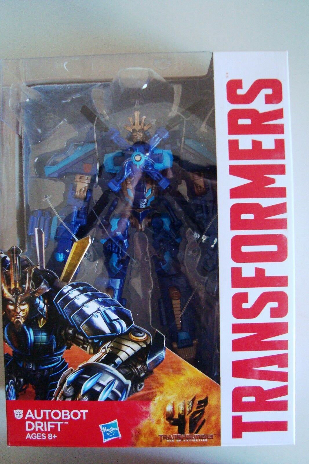 NEW Transformers Movie 4 Age of Extinction AOE VOYAGER 7  AUTOBOT DRIFT MISB