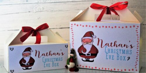 Personalised Christmas Gift Box Tasteful Designs Christmas Eve or Christmas Day