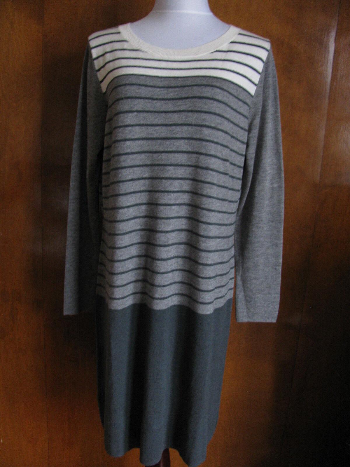 Gap Woherren Multi Farbe Striped Dress Größe XLarge NWT